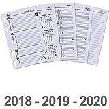 Telecharger Livres 6247 18 19 20 Mini organiseur Kalevan Pallo Refilll 1 jour par page Agenda Filller 2018 2019 2020 (PDF,EPUB,MOBI) gratuits en Francaise