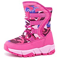 UBFEN Boots for Boys Winter Boots Unisex Kids