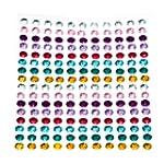 176 x Multi-Coloured Self Adhesive Di...