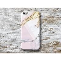Rosa Weiß Marmor Handy Hülle Handyhülle für Huawei P10 P9 P8 Lite P7 Mate S G8 Nexus 6P HTC 10 M9 M8 A9 Desire 626