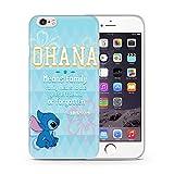 iPhone 5/5s Lilo & Stitch Cassa del Silicone / Copertura del Gel per Apple iPhone 5s 5 SE / Protezione dello Schermo e Panno / iCHOOSE / Citazione