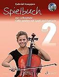Spielbuch zur Celloschule Band 2: Cello spielen mit Spaß und Fantasie. Band 2. 1-3 Violoncelli, teilweise mit Klavier. Spielbuch mit CD