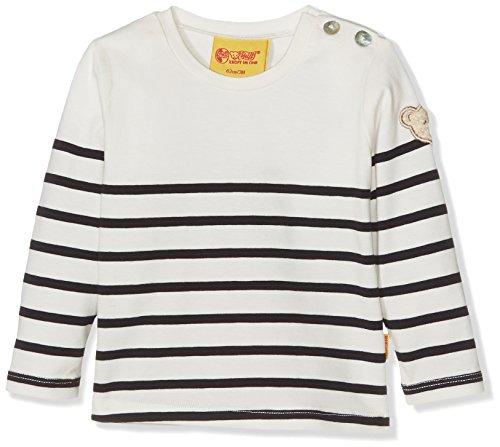 Steiff Baby-Mädchen Langarmshirt T-Shirt 1/1 Arm 6713001, Blau (Marine 3032), 86