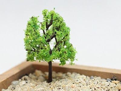 Kleiner Grüner Baum aus Harz DIY Gartendeko Puppenhaus-Ausschmückung Mini-Welt Mini-Natur Mini-Szene von Fortag bei Du und dein Garten