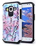 Best GALAXY WIRELESS Cases For Galaxy Core Primes - NageBee Dual Layer Hybrid Defender Case for Samsung Review