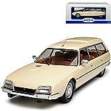 alles-meine GmbH Citroen CX 2500D Super Break Kombi Beige Serie I 1974-1985 1/18 Model Car Group Modell Auto