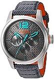 Hugo Boss Orange 1513379Paris grau Stoff Armbanduhr