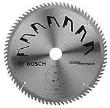 Bosch, Lama per sega circolare Precision, 250 x 2 x 30 mm, 80 denti - 2609256882