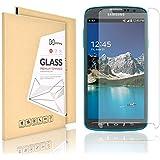 Samsung Galaxy S4 Active Protection écran (Pas S4), Didisky® protection d'écran verre trempé Pour Samsung Galaxy S4 Active [Toucher lisse] Facile à nettoyer,Garantie à vie