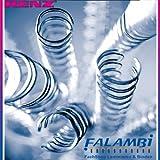 Renz Anillo Alambre Alambre peine vinculante elementos en 3: 1 tono, 34 loops, diámetro de 9,5 mm, 3.8 pulgadas, oro / metálico
