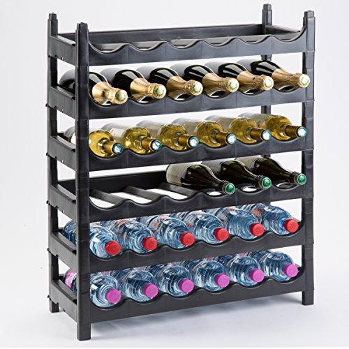 #Weinregal Flasche/Halterung Flasche Modular Kunststoff 36Flaschen#