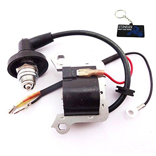 STONEDER bobina di accensione candela per 43cc 49cc 2tempi motore Minimoto mini Pocket scooter b