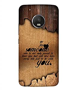 PrintVisa Designer Back Case Cover for Moto G5 Plus (Love Lovely Attitude Men Man Manly)