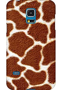 AMEZ designer printed 3d premium high quality back case cover for Samsung Galaxy S5 Mini (Background texture line fur)