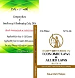 #3: CA Final Company & Allied/Economic Law (Set of 2 Books) Handwritten Book by CA Arpita Tulsyan