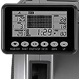 Maxxus Rudergerät 7.4 - Rower In Studioqualität Als Trainingsgerät Für Zuhause - Leiser Luft- und Magnetantrieb, Klappbar, 120Kg Maximales Benutzergewicht - Trainingscomputer mit Wettkampfsimulation - 3