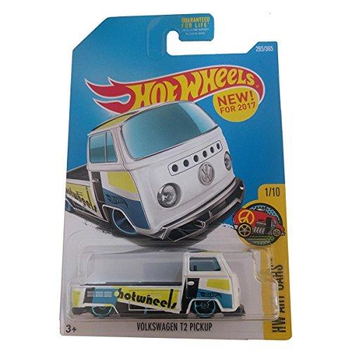 Hot Wheels Volkswagen T2 Pickup - HW Art Cars 295/365 (white) on long card