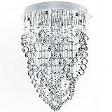 Lustre plafonnier - A++ à E - lampe en cristal - hauteur d'occasion  Livré partout en France