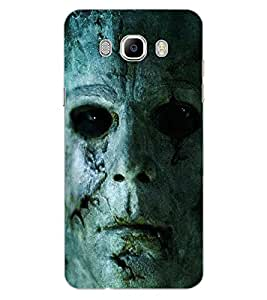 ColourCraft Scary face Design Back Case Cover for SAMSUNG GALAXY J7 (2016)