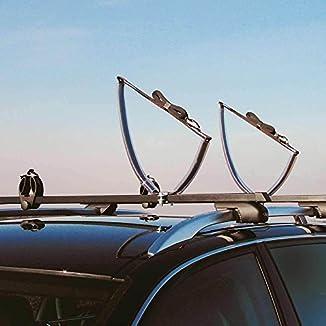 Porta kayak y canoas Atera para barras de techo 1
