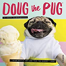 Doug the Pug 2020 Mini Wall Calendar (Dog Breed Calendar)