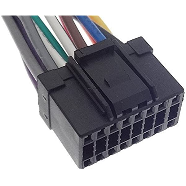 Pioneer 16 Pin Autoradio Kabel Radio Adapter Stecker Iso Anschlusskabel Kabelbaum Elektronik