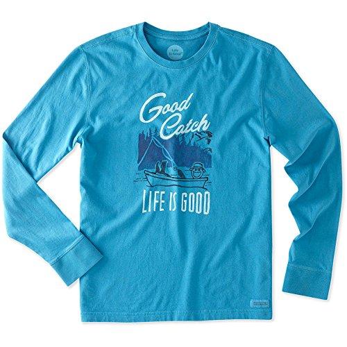 life-is-good-mens-good-catch-long-sleeve-crusher-tee-size-medium