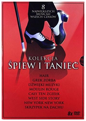 Kolekcja Śpiew i Taniec: West Side Story / Grek Zorba / Dźwięki muzyki / Skrzypek na dachu...