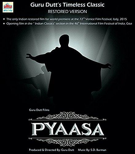 Preisvergleich Produktbild PYAASA Film ~ BLU-RAY ~ Bollywood ~ Guru Dutt,  Mala Sinha,  Waheeda Rehman ~ Hindi mit englischem Untertitel ~ India ~ Original ULTRA BLU-RAY ~ verkauf nur über Bollywood 24 / 7