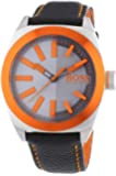 BOSS Orange Herren-Armbanduhr XL London Analog Quarz Leder 1513056