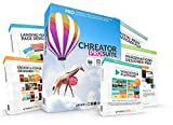 CHREATOR Designer PRO für Photoshop Lightroom® | Größte DIY Grafik und Design Sammlung | Mehr als 40GB und 30.000 Designelemente, Cliparts, Grafiken, Landing Pages, Ebook Cover, PSD, Mockups, Stockphotos, Social Media uvm. | Exklusiv Promo für Photoshop Lightroom®
