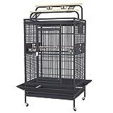 Montana Cages | Markenkäfig Hacienda Play - Antik Käfig, Voliere für Papageien