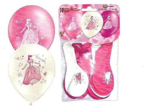 50 Prinzessinin Prinzessin LuftBallons Idee geburtstag Party Fee Deko Deco Geschenk verschiedene Farben gemischt EU Ware vom Sachsen Versand