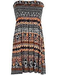 Mix lot neue Frauenscher boobtube trägerlosen Bandeau / ärmelloses Top Damen sexy Sommer-Strandkleid Top small medium plus size Freizeitkleidung Größe 36 bis 46