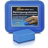 Petzoldt's Profi-Reinigungsknete Magic-Clean, Blau, 100 Gramm, Lackknete