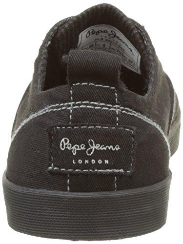Pepe Jeans Damen Julia Monocrome Sneakers Schwarz (Black)