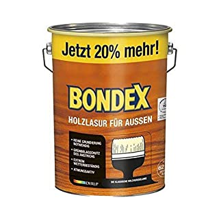 Bondex Holzlasur für Außen Eiche Hell 4,80 l - 329666
