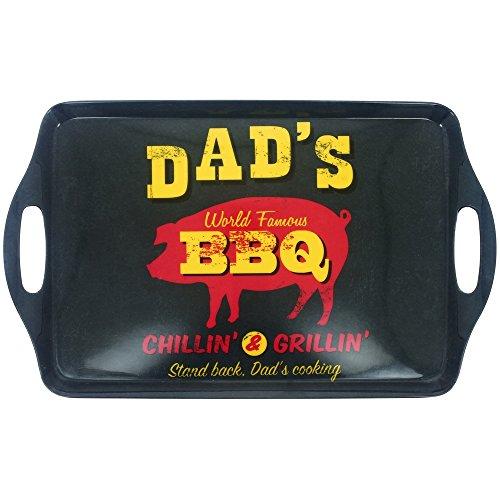 New YorkTablett, Melamin, Vintage-Optik: USA Fast Food, Barbecue, Grill