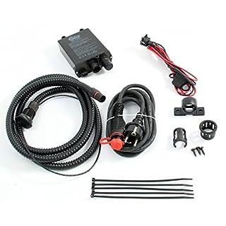 Tuning-Pro Calix Erhaltungsladegerät/Batterie-Ladegerät Festeinbau 12V / 5A, inkl. Einbau- & Anschlußkabel (Kabel-Länge Motorraum: 1,5m* - (MKMS1525)) - BC1205KIT1525