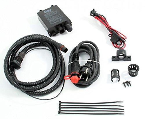 Tuning-Pro Calix Erhaltungsladegerät/Batterie-Ladegerät Festeinbau 12V / 5A, inkl. Einbau- & Anschlußkabel (Kabel-Länge Motorraum: 1m* - (MKMS1025)) - BC1205KIT1025