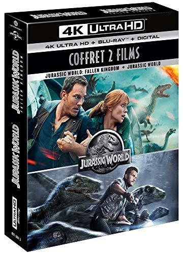 Jurassic World 1 & 2 [Francia] [Blu-ray]