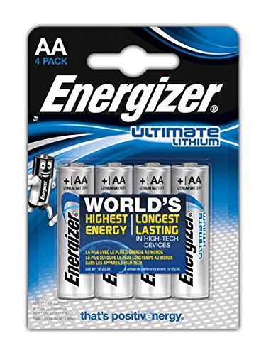 Square-batterie (Energizer Batterie Lithium Mignon AA (1,5Volt 4er-Packung))