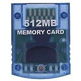 dulawei3 Professional 512 MB Videospiel-Speicherkarte für Nintendo Wii Gamecube Konsole