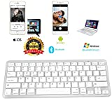BROLAVIYA ® Ultra-Slim Bluetooth Keyboard for Apple iPad Pro/Air 3/2/1, iPad Mini 4/3/2/1,iPhone