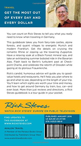 Moon Books Steves Germany 2016 (Rick Steves)