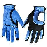Ywlanlantrading Handschuh Langlebiger Golfhandschuh für Herren, blau, Links- oder Rechtshand (Eins) (Color : Blue, Size : M-Left Hand)