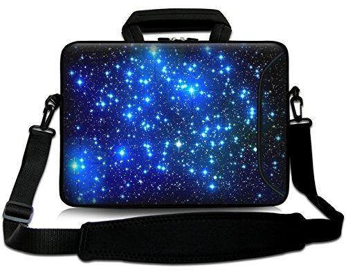 Sidorenko 15-15,6 Zoll Laptoptasche | Laptop Umhängetasche: Stilvolle Designer - Computer - Notebook-Schultertasche aus Neopren Schmutz- und Wasserabweisend | Notebook-Tasche mit Außentasche für Zubehör