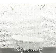 mouldproof EVA rideau de douche rideau de douche imperméable à l'eau d'épaississement de rideaux de douche de salle de bains (180 * 180CM / 180 * 200CM / 180 * 220CM) Séchage rapide ( taille : 180*180CM )