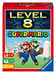 Ravensburger 26070 Super Mario Level 8 - Juego de Cartas