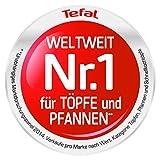 Tefal D44210 Ceramic Control Crepepfanne, Durchmesser 25 cm, weiß